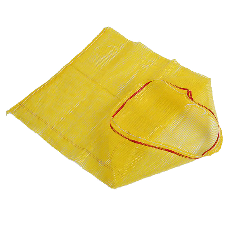 Leno Mesh Bag Yellow Color
