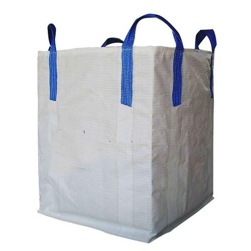 White Jumbo Bag Cross Corner